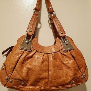 B.Makowsky leather shoulder bag